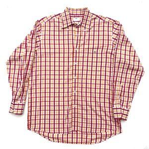 Lacoste button down long sleeve shirt 44 XL